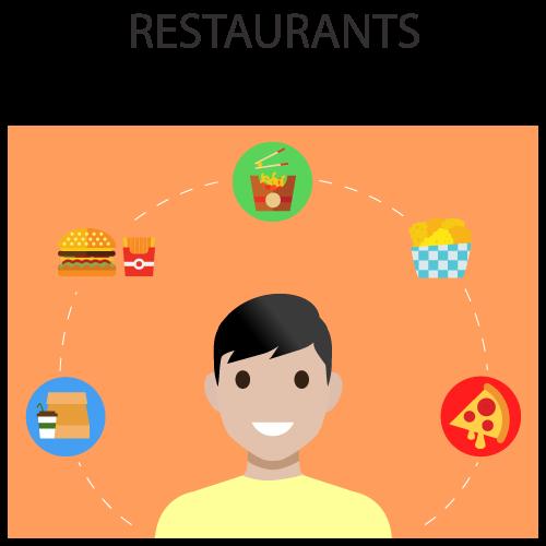 Xeerpa in Restaurants